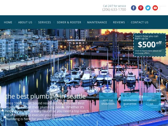 egochi plumbers webdesign