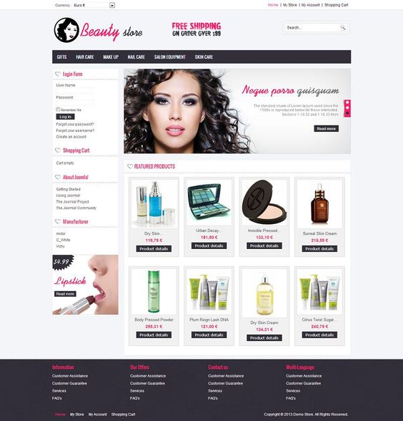 SEO for Beauty Store
