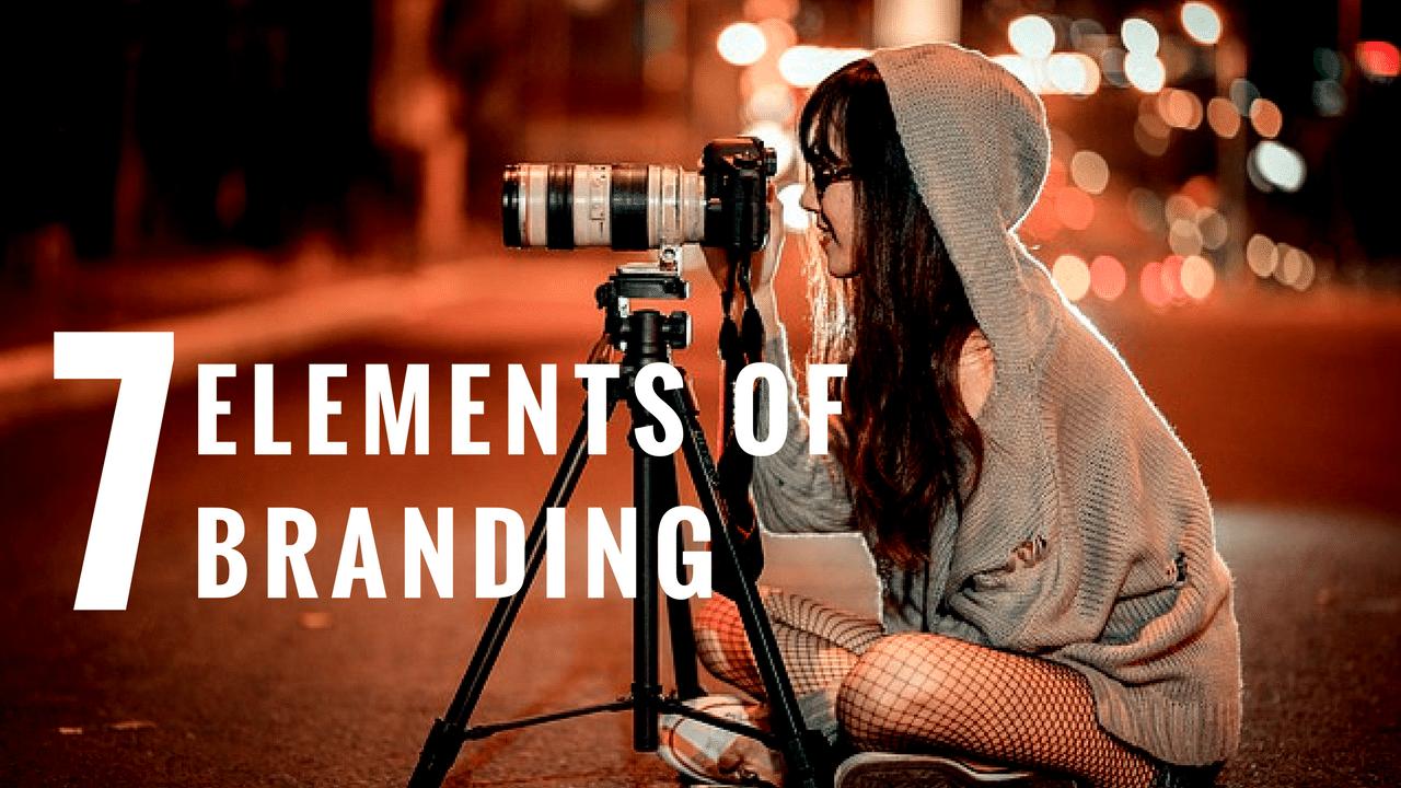 7 Elements of Branding