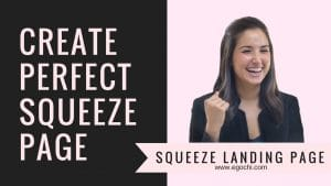 Squeeze Page, Squeeze Landing Page