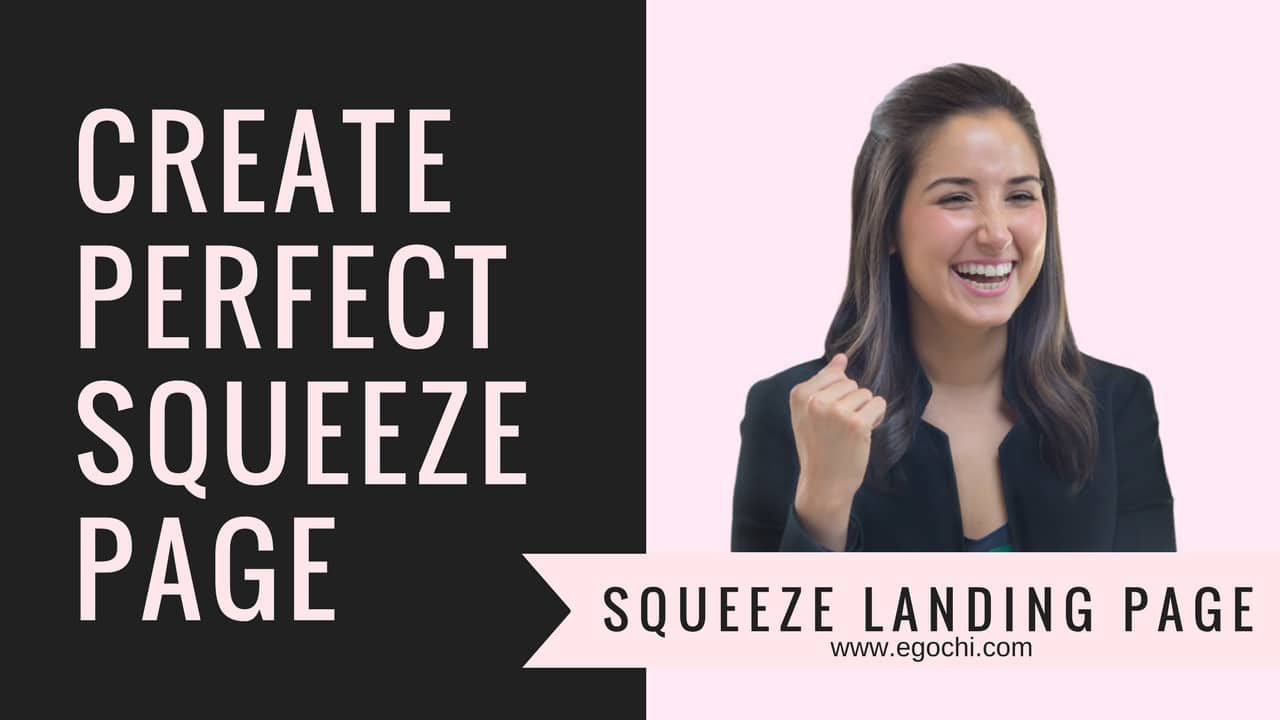 Short Guide To Creating Squeeze Page | Best Squeeze Landing Page