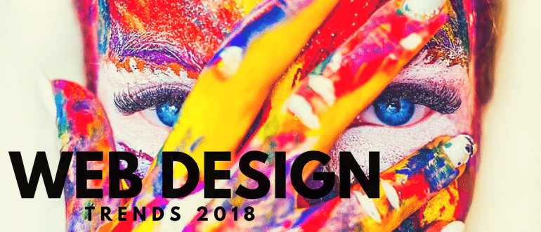 Top Website Design Trends 2018