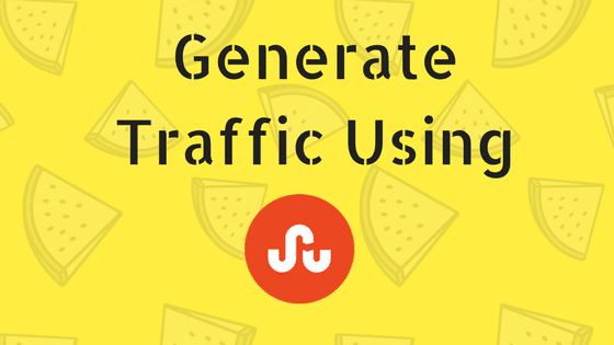 Generate Traffic Using StumbleUpon