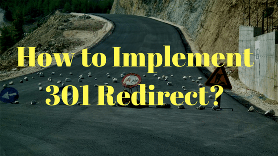 How to Implement 301 Redirect_