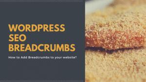 WordPress SEO Breadcrumbs