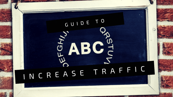 A - Z Guide To Increase Website Traffic