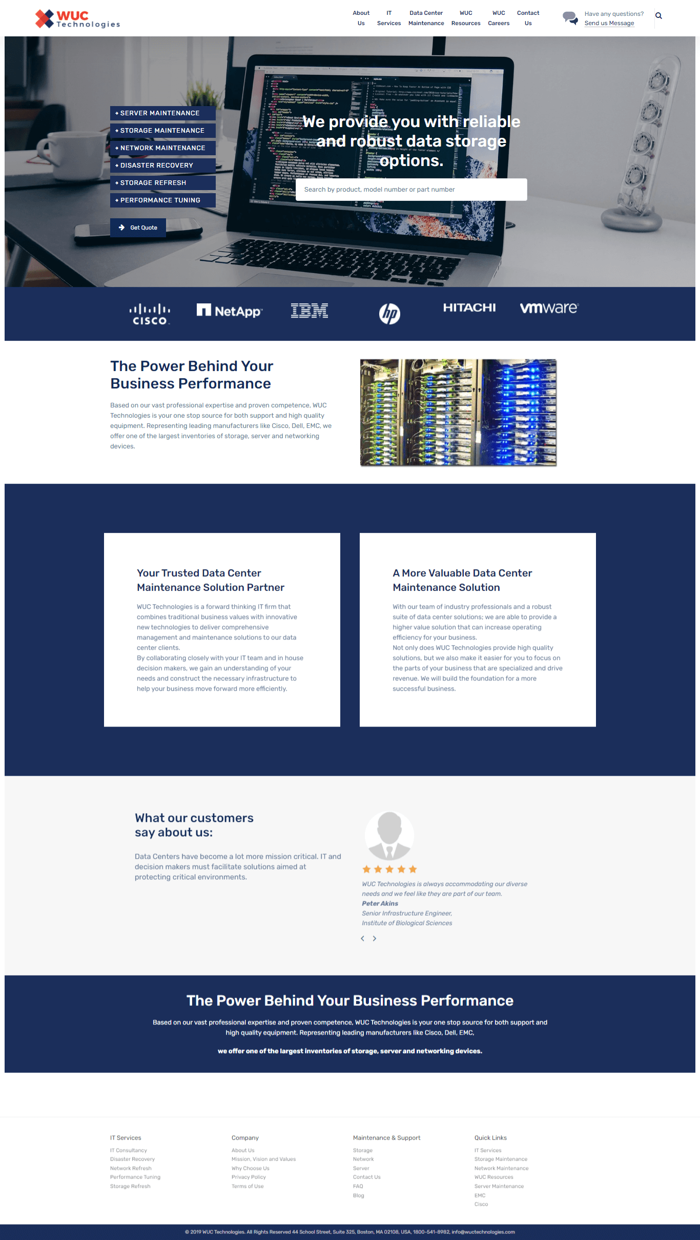 small business web design portfolio sample 2