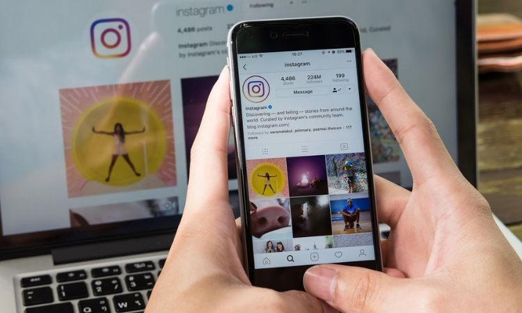 Instagram marketing image